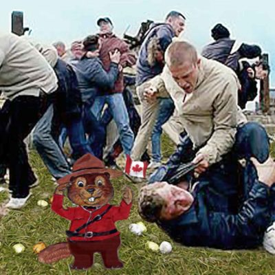 Canadian Easter Egg Hunt Turns Violent
