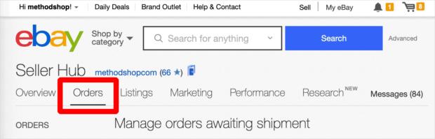Ebay Orders