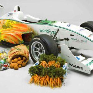 Chocolate-Powered EcoF3 Formula 3 Racing Car Revealed