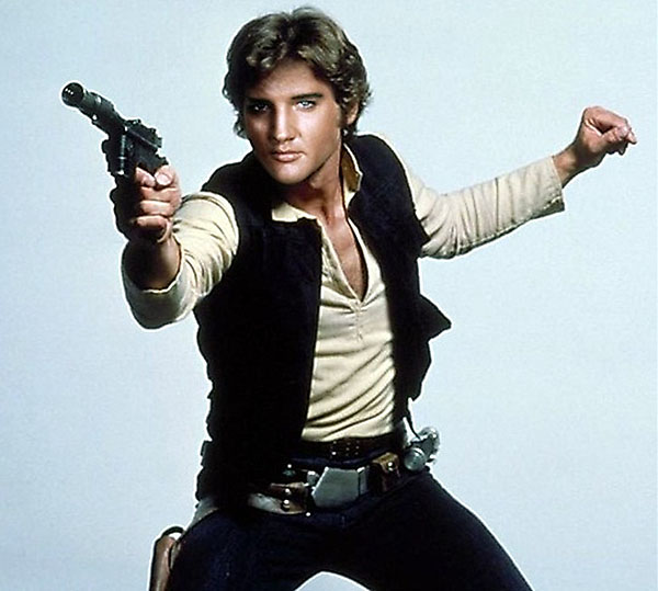 Elvis Solo - Funny Star Wars Pictures