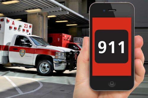 911 Emergency Phone Call