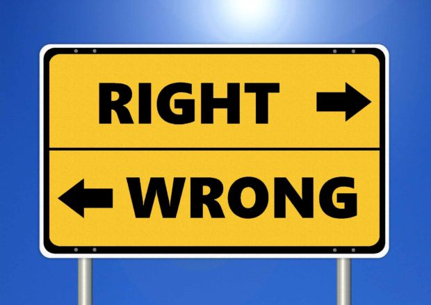 Ethics: Right & Wrong