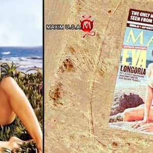 This Sexy Eva Longoria Maxim Cover Can Be Seen From Space (2006)