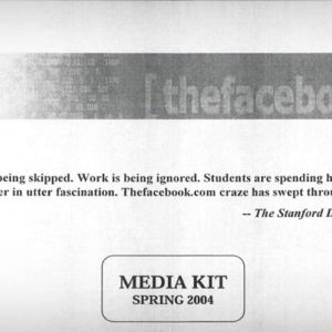 How Facebook Pitched Advertisers in 2004