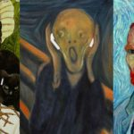 Famous Works Of Art With Apple Airpods