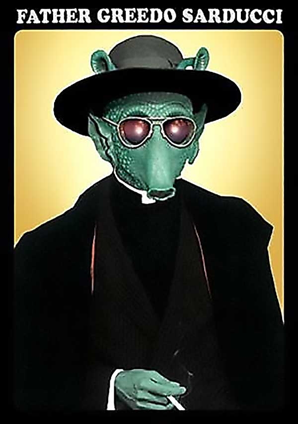 Father Greedo Sarducci - Funny Star Wars Pictures