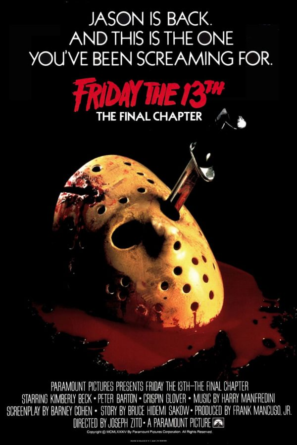 Friday The 13Th: The Final Chapter - Banned Movie Poster