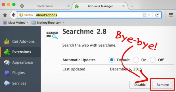 how to find and delete adware on mac