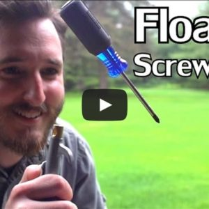 VIDEO: How to Levitate A Screwdriver With Compressed Air