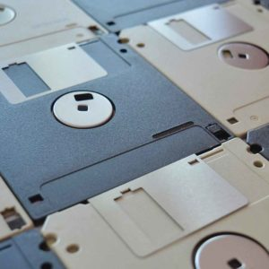The Nerdy History Of Portable Storage - Infographic