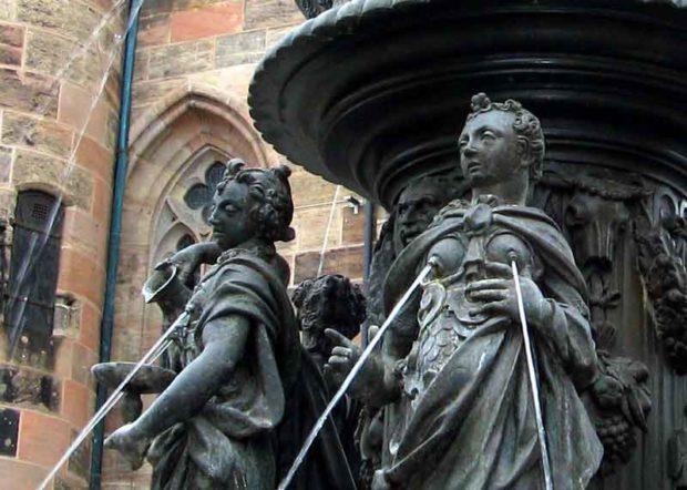 Fountains Of Virtues - Nuremberg, Germany