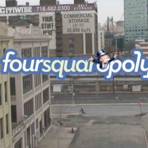 Monopoly + Foursquare = Foursquaropoly App