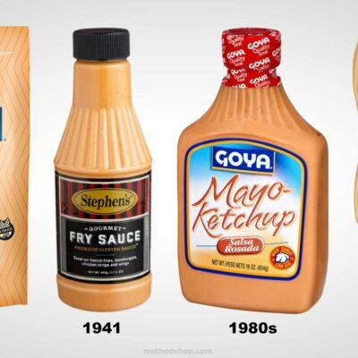 Salsa Golf, Fry Sauce, MayoKetchup, Mayochup