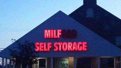 Funny Sign Fails - Milford Self Storage