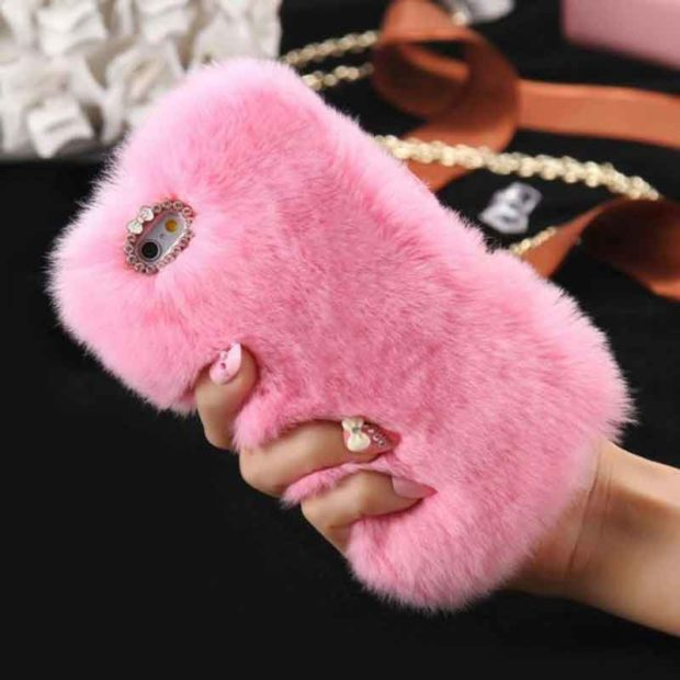 Rex Rabbit Soft Furry Case for Apple iPod Touch