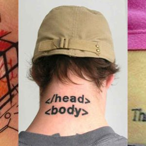 7 Geeky Tattoo Ideas For Developers And IT Professionals