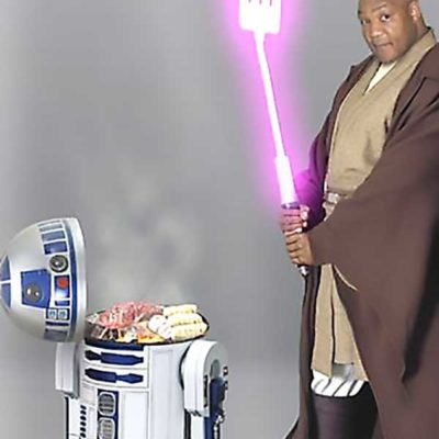 George Foreman Grill: R2-D2 Version