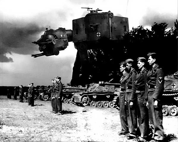Imperial German War Machines: What If The Nazis Had At-At Walkers?