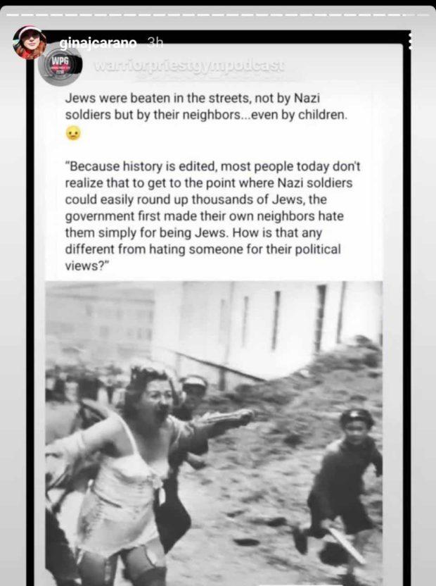 Was Disney Right To Fire Gina Carano From The Mandalorian? - Gina Carano Anti Jews 2