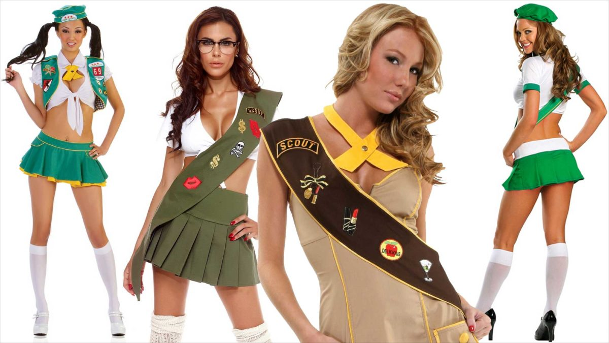Sexy Girl Scout Costumes For Women