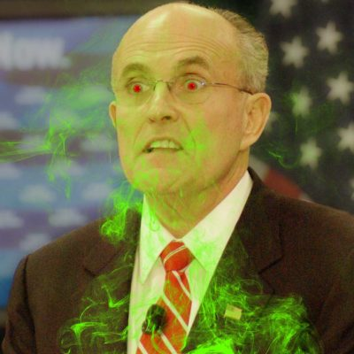 Rudy Giuliani Farts - Rudy Giuliani Farts During Michigan Voter Fraud Hearings