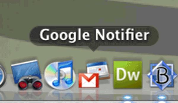Gmail Notifier For Mac In The Mac Os Dock