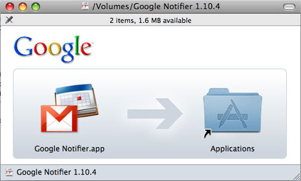 Gmail Notifier For Mac - Install