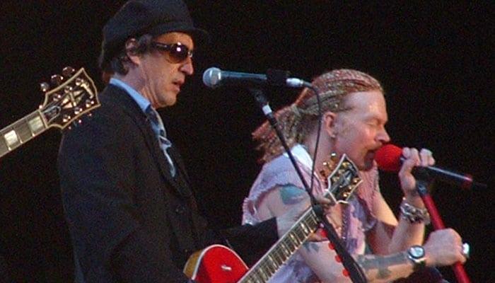Guns N' Roses: Izzy Stradlin & Axl Rose