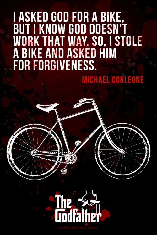 Forgiveness - Memorable Quotes From The Godfather