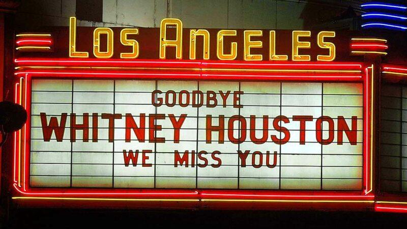 Goodbye Whitney Houston
