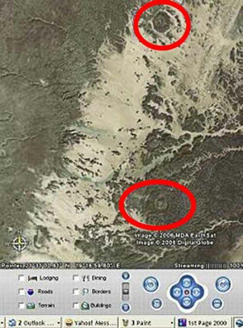 Emilio Gonzalez Discovers Comet Craters Using Google Earth
