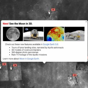 Google Celebrates Lunar Landings with New Google Moon App