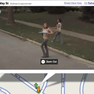 7 Pictures Of Naked People Captured By Google's Cameras