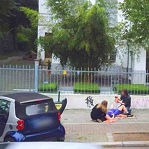 Birth of Baby Captured on Google Street View in Germany