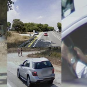 Prostitute Encounter Captured By Google Street View