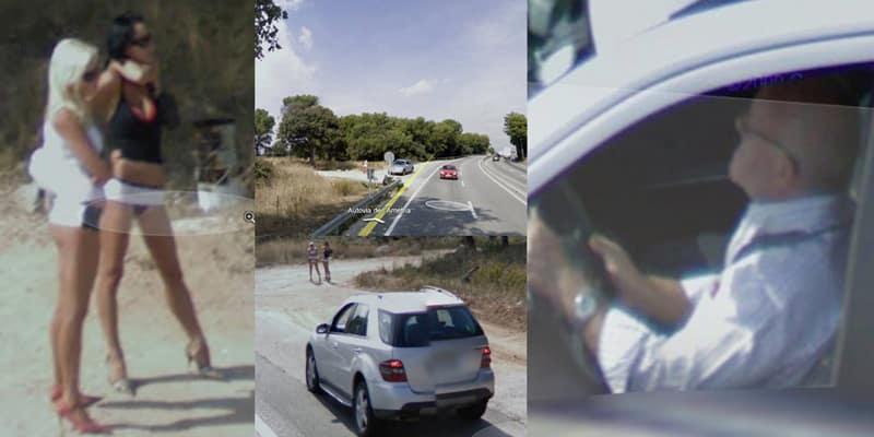 People having sex google street view