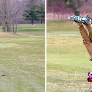 Hilarious 'Goose Attacks Golfer Meme' Makes Unfortunate Teen An Internet Star