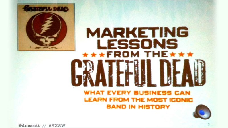 5 Awesome Marketing Lessons From the Grateful Dead