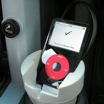 U2 iPod Sitting in a Griffin Podpod