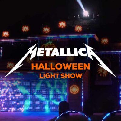 Incredible Halloween Light Show Set To Metallica's Enter Sandman