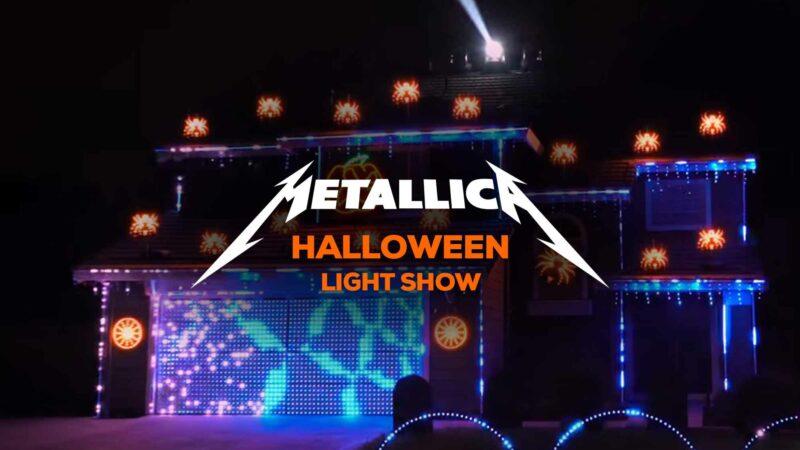 Metallica Halloween Light Show
