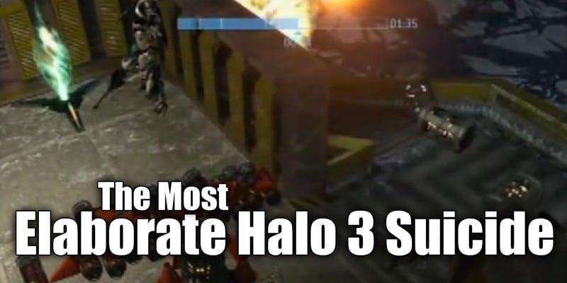 Elaborate Halo 3 Suicide