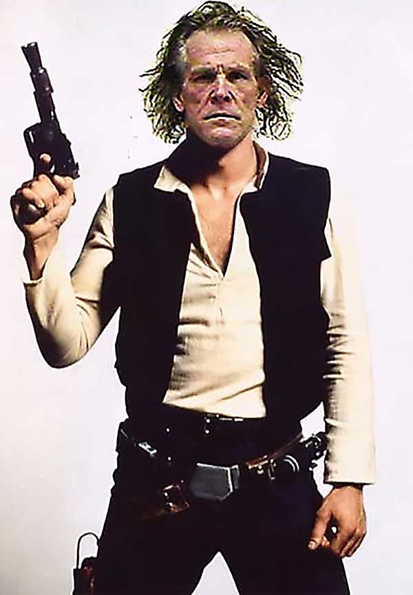 Han Nolte - What If Nick Nolte Was Cast As Han Solo?