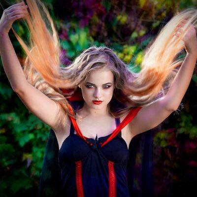 Haunted Magic Girl Costume