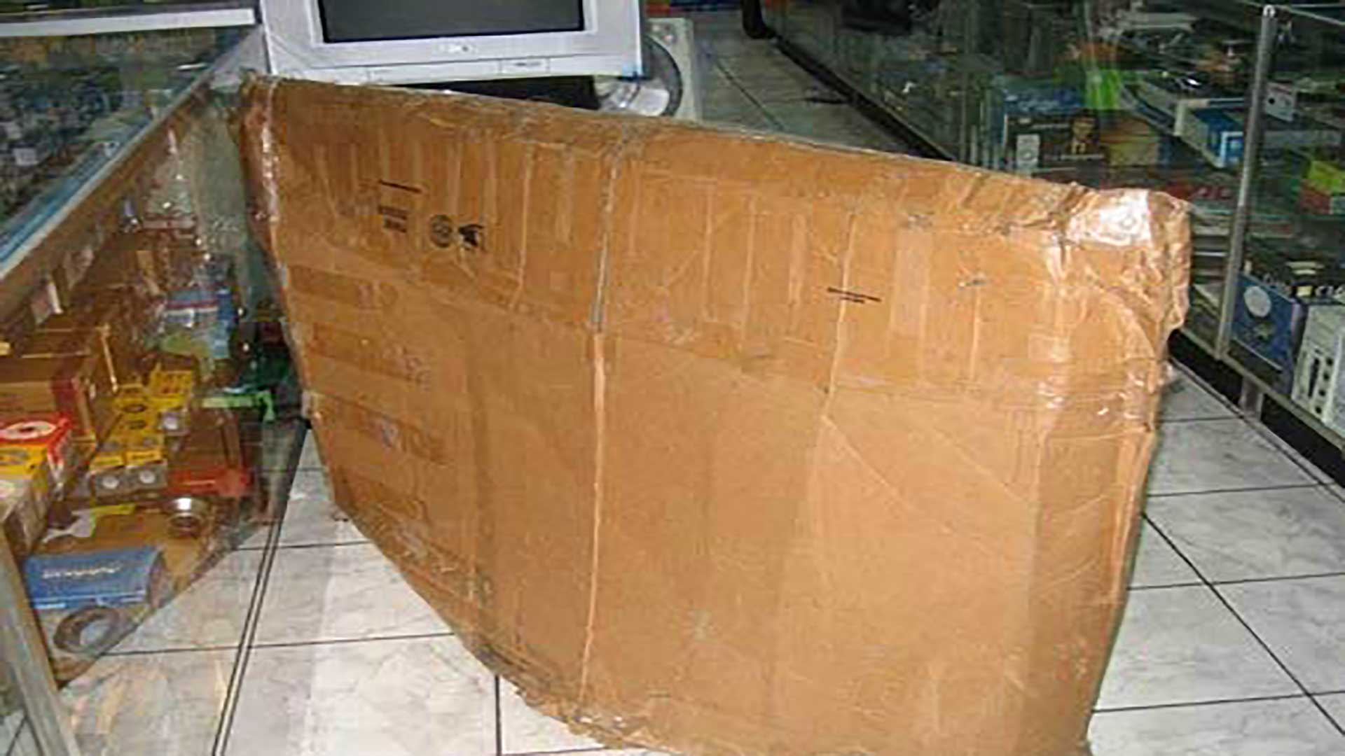 How NOT to Ship a HDTV 4