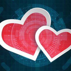 How Americans Use Technology To Plan Valentine's Day Infographic