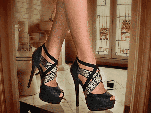 stop wearing heels