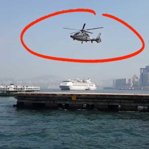 A Camera Shutter Synchronized To A Helicopter's Rotor Speed Confuses Internet