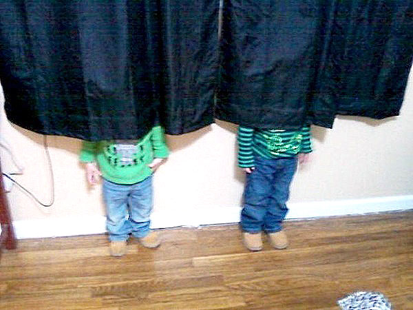 Hide-And-Go-Seek Fail: Curtains
