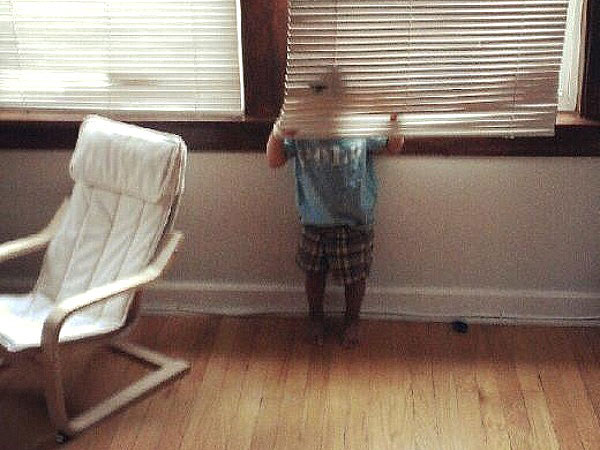 Hide-and-Go-Seek Fail: Blinds